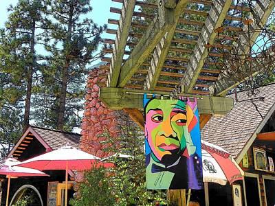 Photograph - Idyllwild - Cafe Aroma 186 by Lisa Dunn