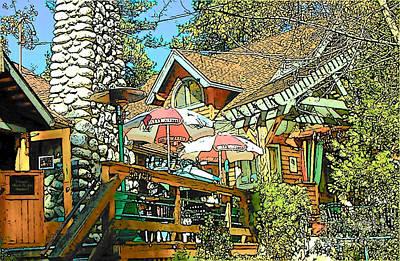 Idyllwild - Cafe Aroma Art Print