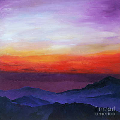 Painting - Idyllwild, Ca by Brian M White