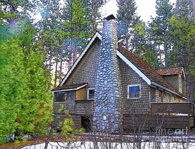 Photograph - Idyllwild Cabin 1312 by Lisa Dunn