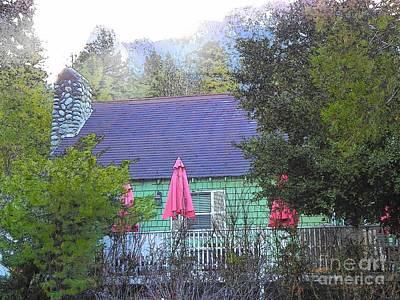 Photograph - Idyllwild Cabin 1317 by Lisa Dunn