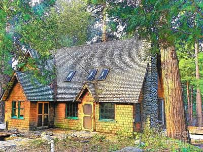 Photograph - Idyllwild Cabin 1324 by Lisa Dunn
