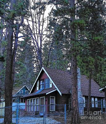 Photograph - Idyllwild Cabin 1330 by Lisa Dunn