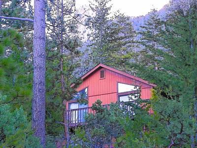 Photograph - Idyllwild Cabin 1340 by Lisa Dunn