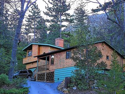 Photograph - Idyllwild Cabin 1342 by Lisa Dunn