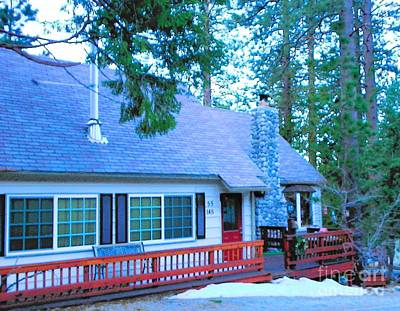 Photograph - Idyllwild Cabin 1348 by Lisa Dunn