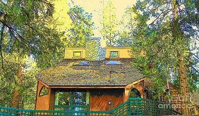 Photograph - Idyllwild Cabin 1350 by Lisa Dunn