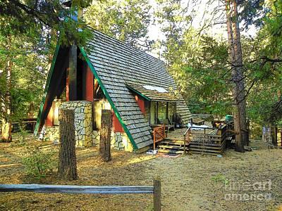 Photograph - Idyllwild Cabin 1351 by Lisa Dunn