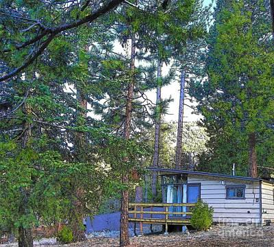 Photograph - Idyllwild Cabin 1367 by Lisa Dunn