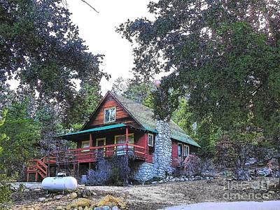 Photograph - Idyllwild Cabin 1375 by Lisa Dunn