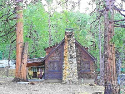 Photograph - Idyllwild Cabin 1420 by Lisa Dunn