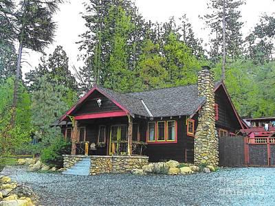 Photograph - Idyllwild Cabin 1422 by Lisa Dunn