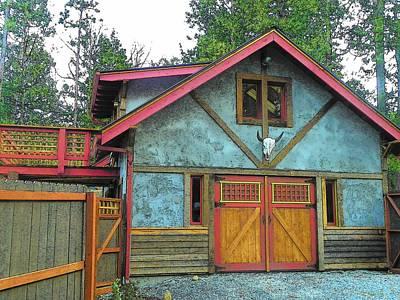 Photograph - Idyllwild Cabin 1423 by Lisa Dunn