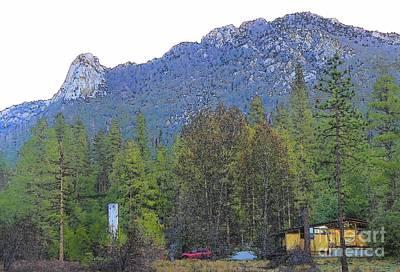 Photograph - Idyllwild Cabin 1429 by Lisa Dunn