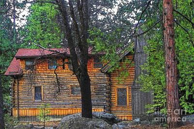 Photograph - Idyllwild Cabin 1434 by Lisa Dunn