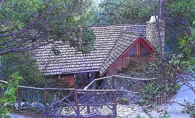 Photograph - Idyllwild Cabin 1499 by Lisa Dunn