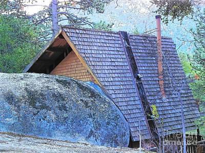Photograph - Idyllwild Cabin 1500 by Lisa Dunn