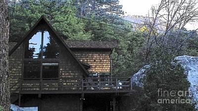 Photograph - Idyllwild Cabin 1501 by Lisa Dunn