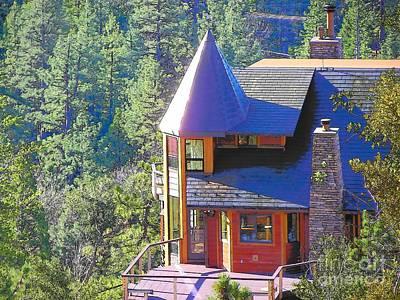 Photograph - Idyllwild Cabin 1514 by Lisa Dunn
