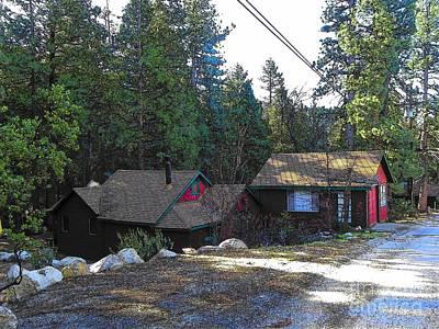 Photograph - Idyllwild Cabin 1522 by Lisa Dunn