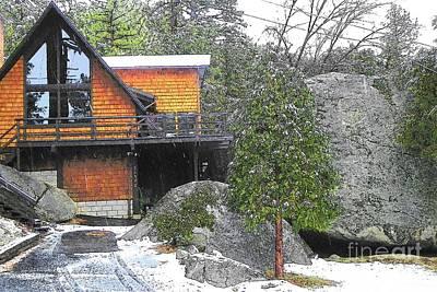 Photograph - Idyllwild Cabin 1541 by Lisa Dunn
