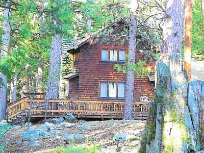 Photograph - Idyllwild Cabin 1653 by Lisa Dunn