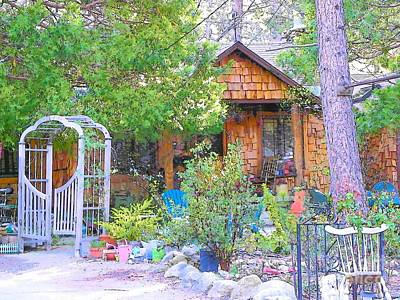 Photograph - Idyllwild Cabin 1658 by Lisa Dunn