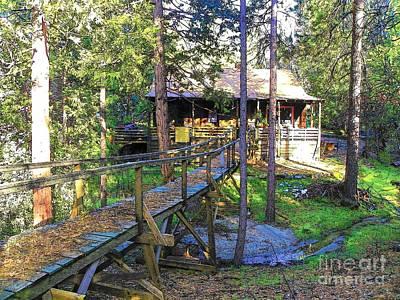 Photograph - Idyllwild Cabin 1669 by Lisa Dunn