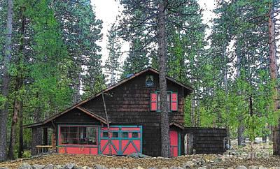 Photograph - Idyllwild Cabin 1677 by Lisa Dunn