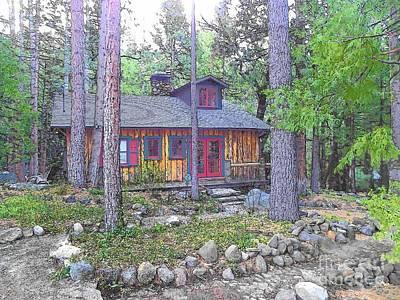 Photograph - Idyllwild Cabin 1678 by Lisa Dunn