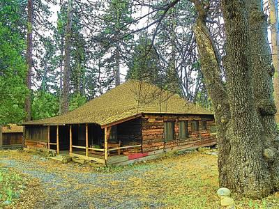 Photograph - Idyllwild Cabin 1680 by Lisa Dunn