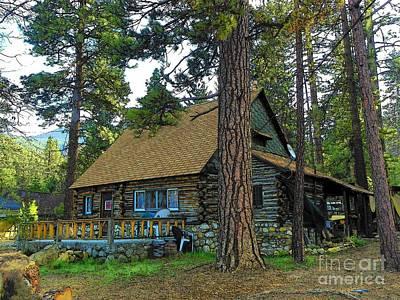 Photograph - Idyllwild Cabin 1681 by Lisa Dunn