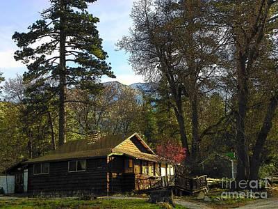 Photograph - Idyllwild Cabin 1682 by Lisa Dunn