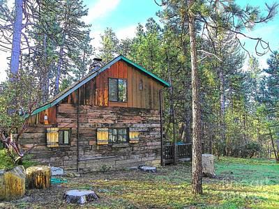 Photograph - Idyllwild Cabin 1685 by Lisa Dunn