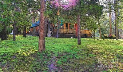 Photograph - Idyllwild Cabin 1686 by Lisa Dunn