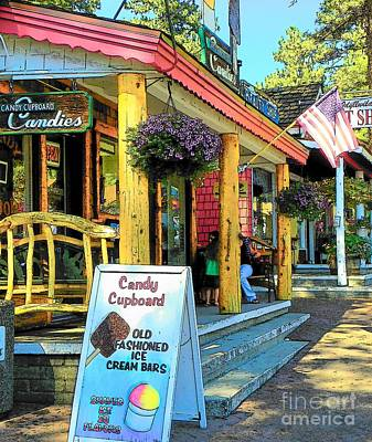 Photograph - Idyllwild Candy Cupbord 117 by Lisa Dunn