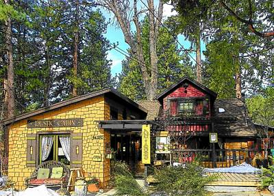 Photograph - Idyllwild Rustic Cabin Antiques by Lisa Dunn