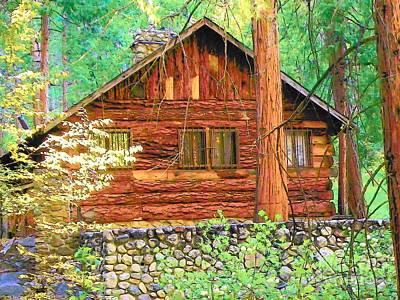 Photograph - Idylwild Cabin 1875 by Lisa Dunn