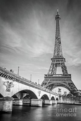 Photograph - Iena Bridge by Delphimages Photo Creations