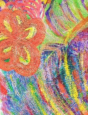 If Colors Were Sounds  Art Print by Anne-Elizabeth Whiteway