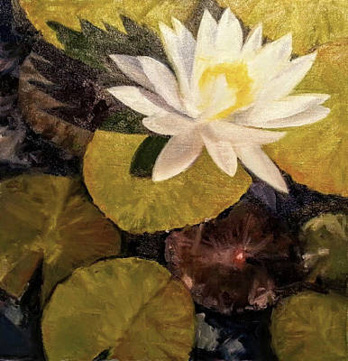 Painting - If I Had A Pond by Jessica Anne Thomas