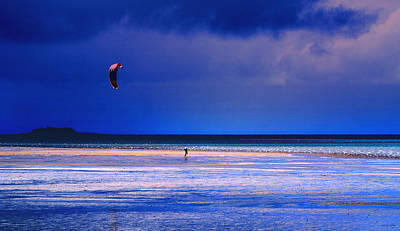Surfing Photograph - If I Had Wings by Holly Kempe