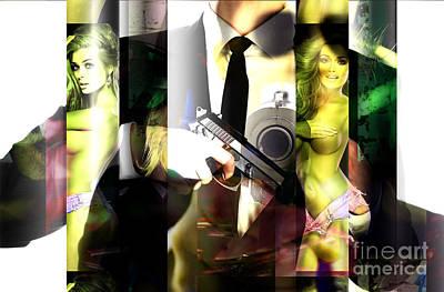 Digital Art - If Looks Could Kill by John Rizzuto