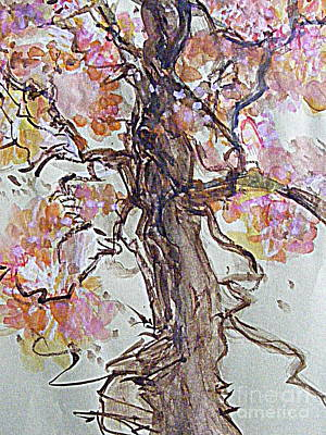 Digital Art - If Oak Trees Had Blossoms 2 by Nancy Kane Chapman