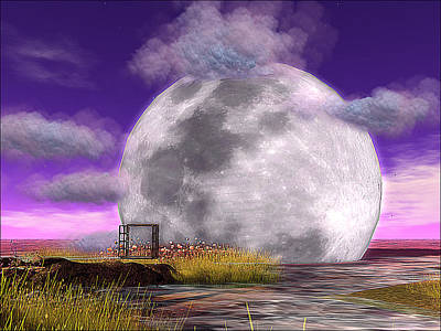 If The Moon Touched The Deep Marsh Original