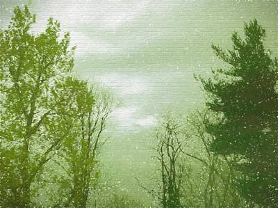 Loud Mixed Media - If The World Were Green by Debra Lynch