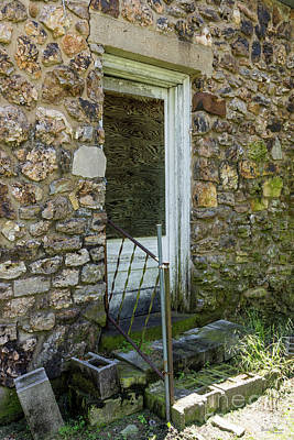 Photograph - If This Back Door Could Talk by Jennifer White