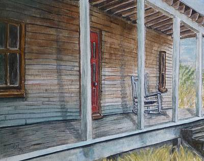 Painting - If This Old Porch Could Talk by Kelly Mills