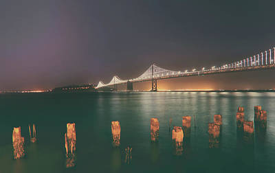 Bay Bridge Photograph - If We're Together by Laurie Search