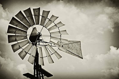 If Windmills Could Talk Art Print by Tony Grider